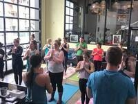Yoga + Beer at Ecliptic Brewing