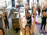 Yoga + Beer at Ruse Brewing