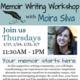 CLASS FULL - Memoir Writing Workshop