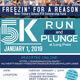 Freezin' for a Reason 5K & Polar Plunge