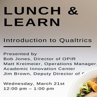 HR Lunch and Learn: Introduction to Qualtrics