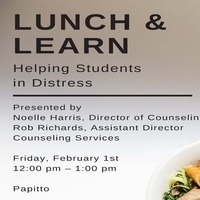 HR Lunch & Learn: Helping Students in Distress