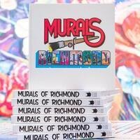Murals of Richmond by Mickael Broth and guest artists