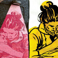 """WHO IS SHE? THE 'GIRLS! GIRLS! GIRLS! MURAL SERIES, COLLECTED"""