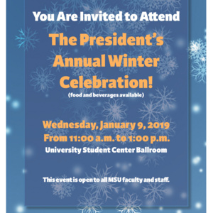 President's Winter Celebration