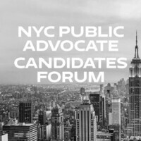 New York City Public Advocate Candidates Forum