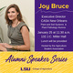 Alumni Speaker Series: Joy Bruce