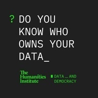 "Questions That Matter: ""Data and Democracy"""