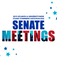 Student Government Association -ATLANTA SENATE SPRING MEETINGS