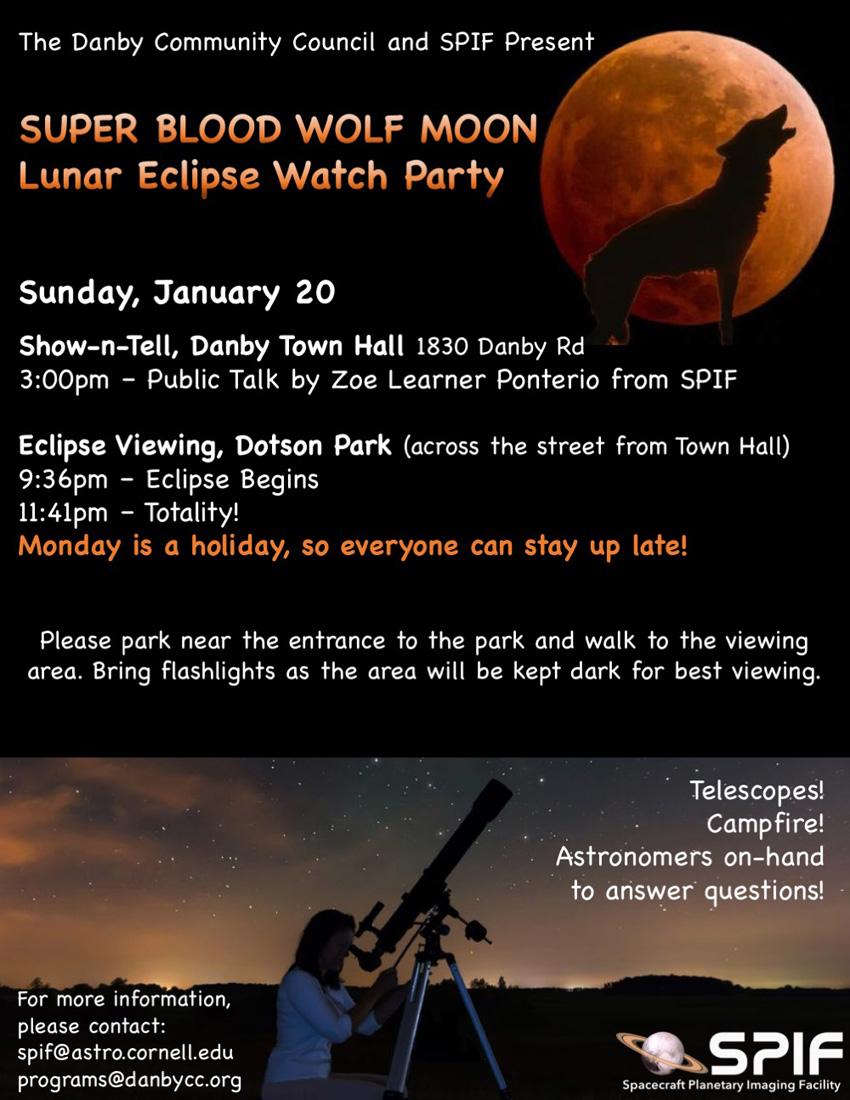 Lunar Eclipse Watch Party