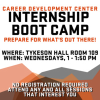 Internship Boot Camp | Part One: Networking & Finding an Internship