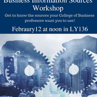 Business Information Sources Workshop