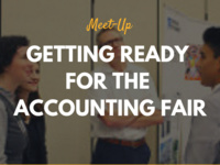 MeetUp: Getting Ready for the Accounting Fair