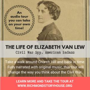 Elizabeth Van Lew Downloadable Walking Tour