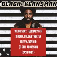 Movie Night - Blackkklansman