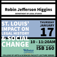College of Arts and Sciences Faculty Lecture Series - Spring 2019