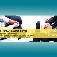 Webinar: Navigating the Job Search