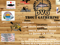 DESERT VALLEY OUTDOORS TROUT GATHERING