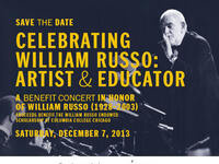 CELEBRATING WILLIAM RUSSO: BENEFIT CONCERT