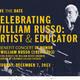 CELEBRATING WILLIAM RUSSO: BENEFIT CONCERT