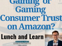 Lunch and Learn: Gaining or Gaming Consumer Trust on Amazon?
