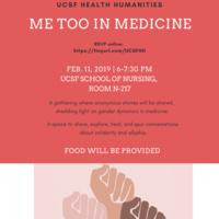 Me Too in Medicine