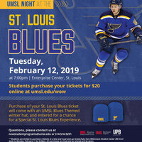UMSL Night at the St. Louis Blues