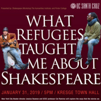 """Jessica Bauman: """"What Refugees Taught Me About Shakespeare"""""""