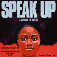 Black Celebration Month: Speak Up Screening