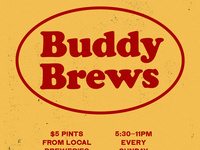 BUDDY BREWS
