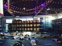Yoga + Wine at Boedecker Cellars
