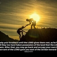 Verse of the Day - Joshua 1:14-15