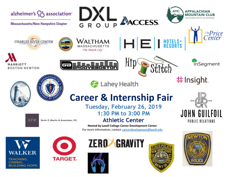 2019 Spring Career and Internship Fair at Athletic Center