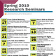 Undergraduate Research Seminar Series: Let's Talk about EUReCA!