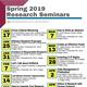 Undergraduate Research Seminar Series: Last Minute Summer Opportunities