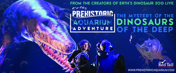 Tri-ART:  Erth's Prehistoric Aquarium Adventure