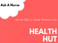 Health Hut - Ask A Nurse