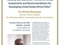 """Security and Economic Priorities for Africa: Assessments and Recommendations for Developing United States-Africa Policy"""