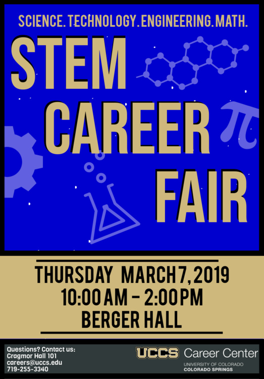 UCCS Spring STEM Career Fair