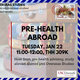 Study Abroad Info Session: Pre-Health