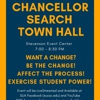 Student Town Hall - Chancellor's Search
