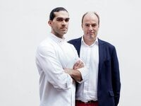 """""""The Gastrophysics Chef's Table: The Art & Science of Chef/Scientist Collaboration"""" — Special SAGE Center Lecture by Charles Spence and Jozef Youssef"""