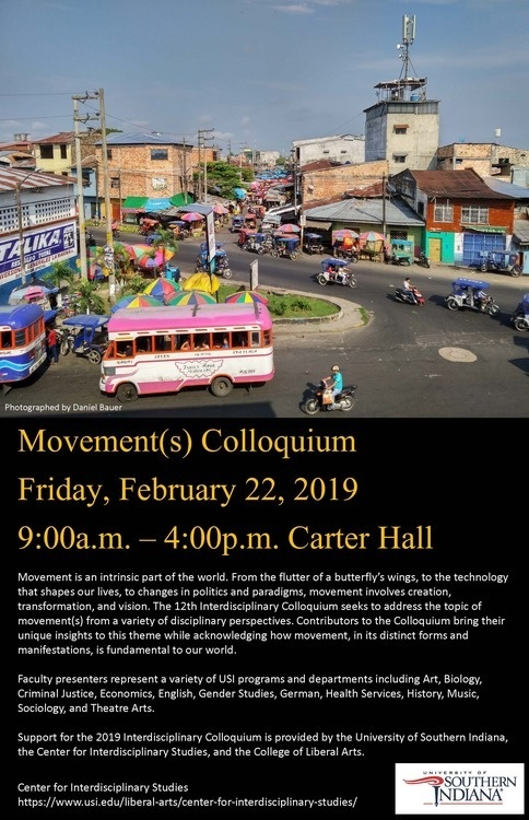 Movement(s) Colloquium at University of Southern Indiana