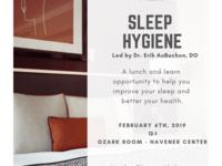 Sleep Hygiene Lunch & Learn