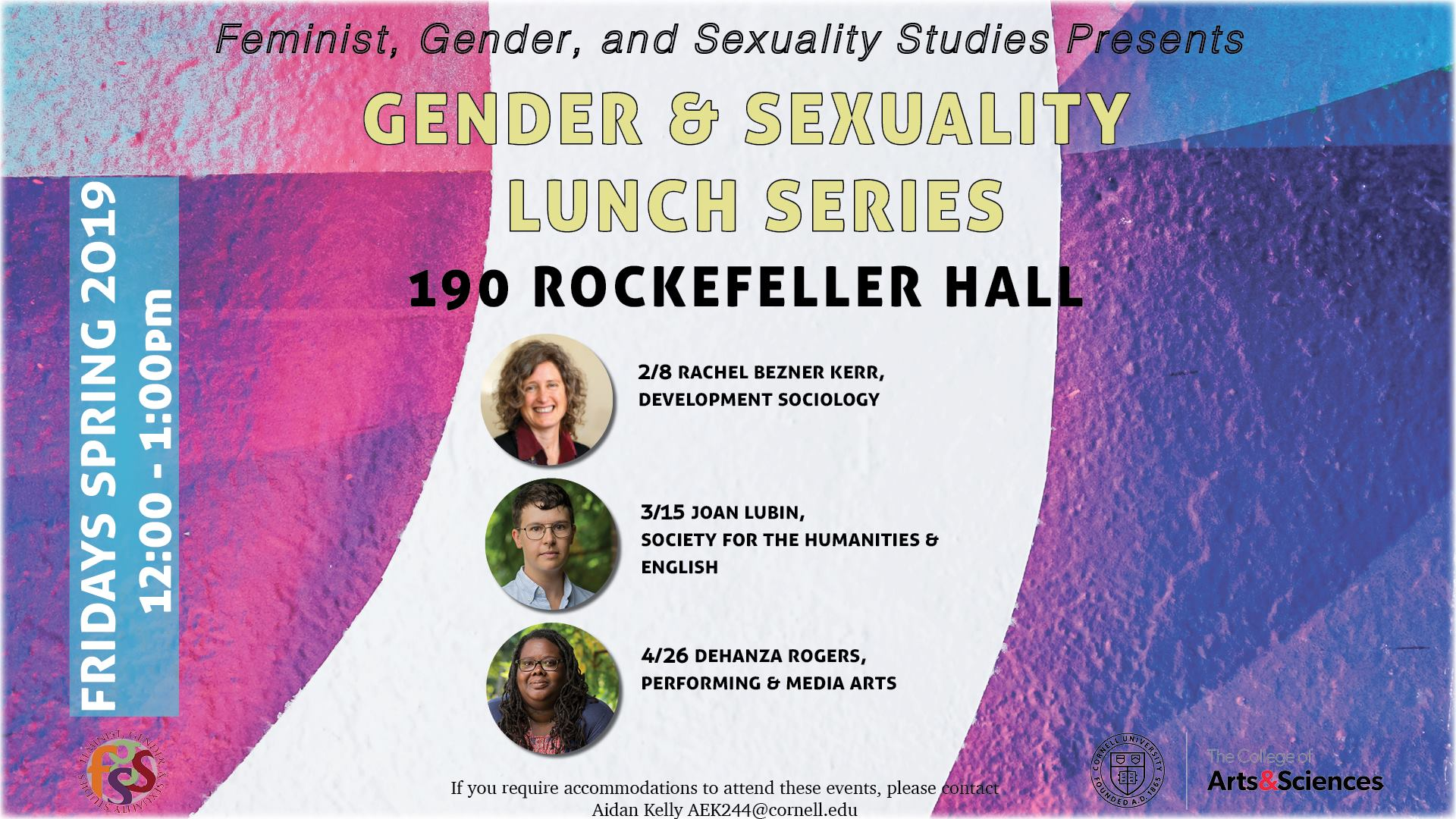 FGSS Gender & Sexuality Lunch Series: Rachel Bezner-Kerr