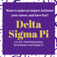 Delta Sigma Pi Recruitment: Coffee With the Brothers