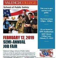 School of Public Safety Semi-Annual Job Fair