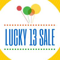 Lucky 13 Sale