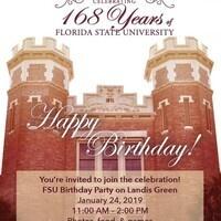 Happy Birthday, FSU!