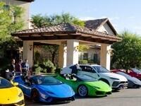 Italian Cars + Coffee of Coachella Valley